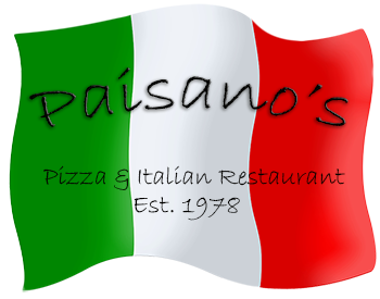 Paisano's Pizza & Italian Restaurant, 350 W. Maple Street, New Lenox, IL  60451 - 815-485-2422